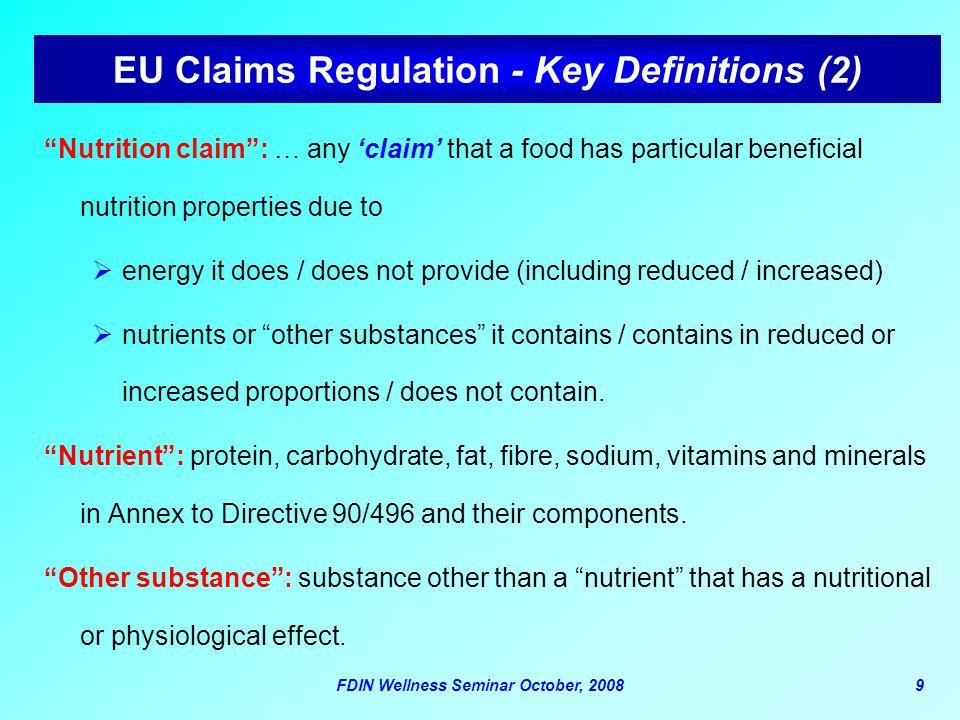 EU Claims Regulation - Key Definitions (2)