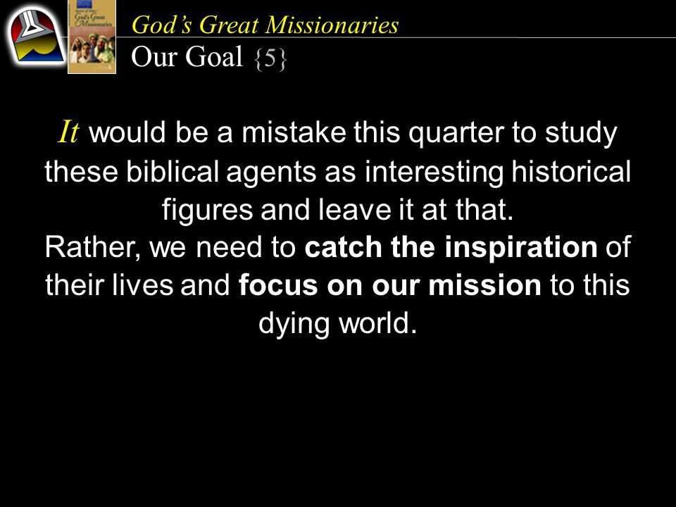 God's Great Missionaries