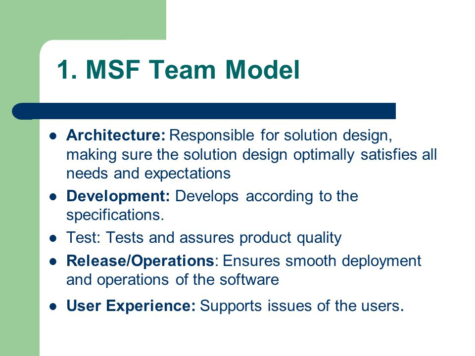 team models and expectations A review the literature found only very few studies on team mental models in   besides the mental models, the expectations of the members which are built.