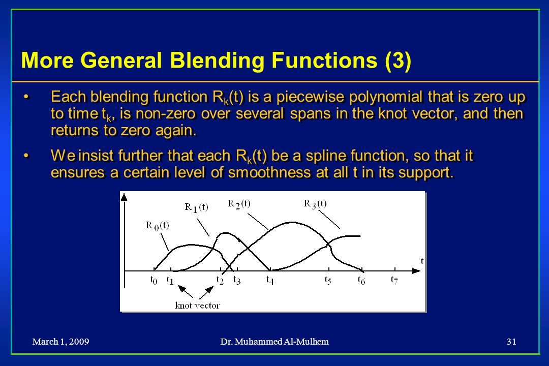 More General Blending Functions (3)