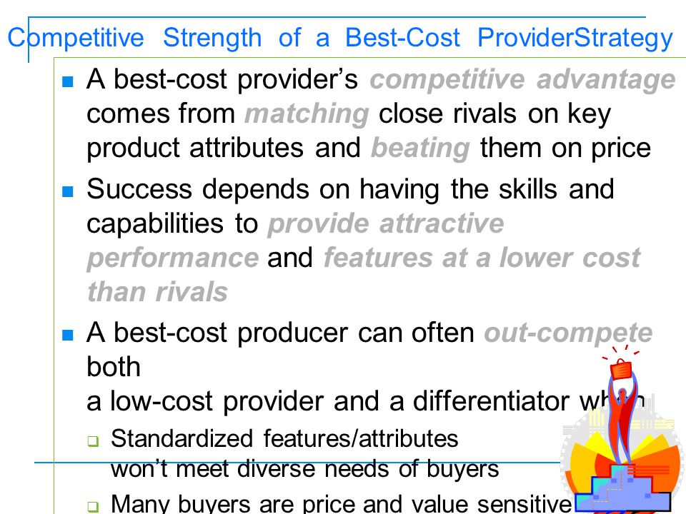 Competitive Strength of a Best-Cost ProviderStrategy