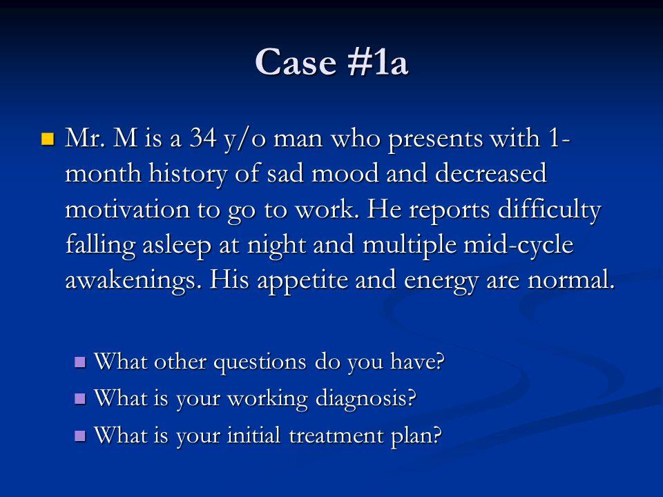 Case #1a