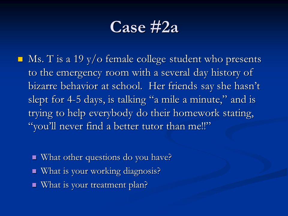Case #2a