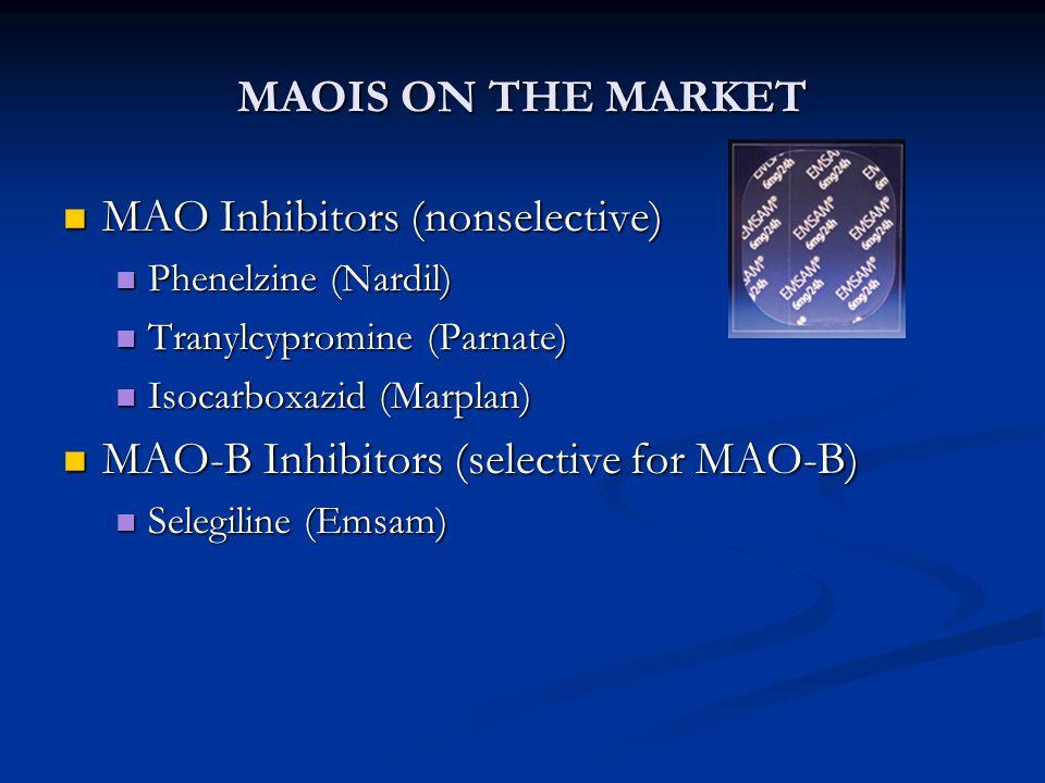 MAO Inhibitors (nonselective)