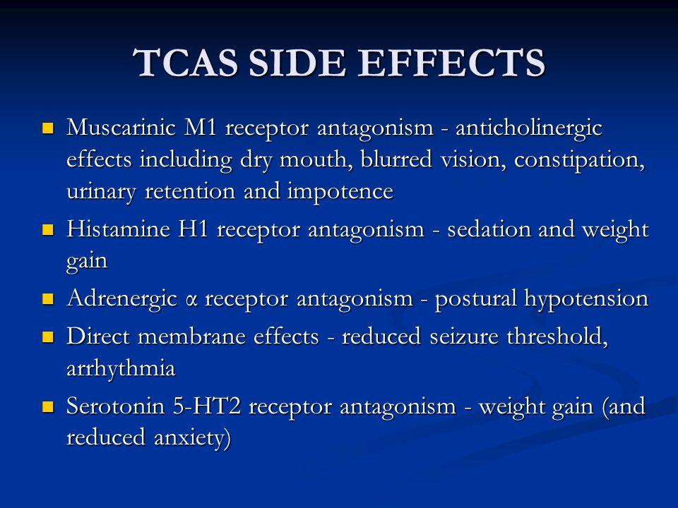 TCAS SIDE EFFECTS