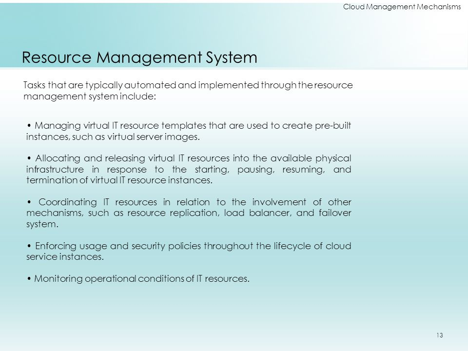 Resource Management System