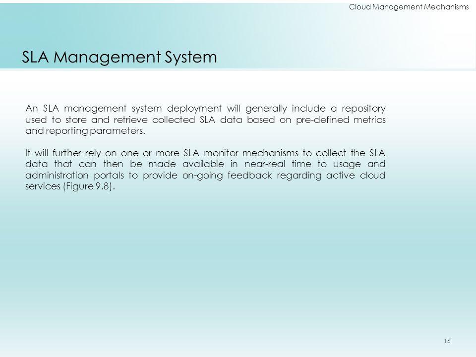 Cloud Management Mechanisms