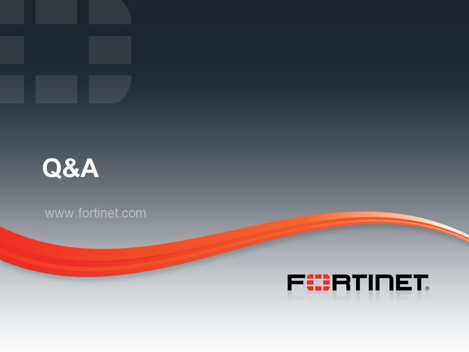 Q&A www.fortinet.com