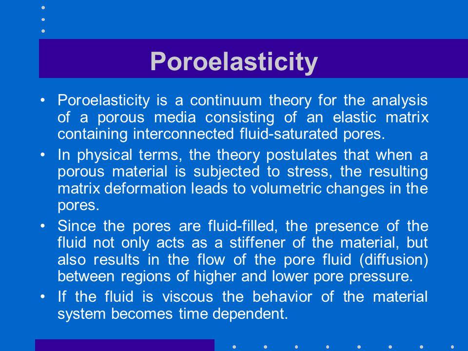Poroelasticity