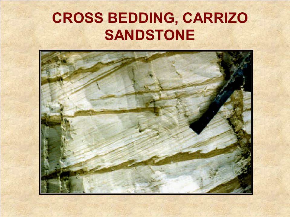 CROSS BEDDING, CARRIZO SANDSTONE