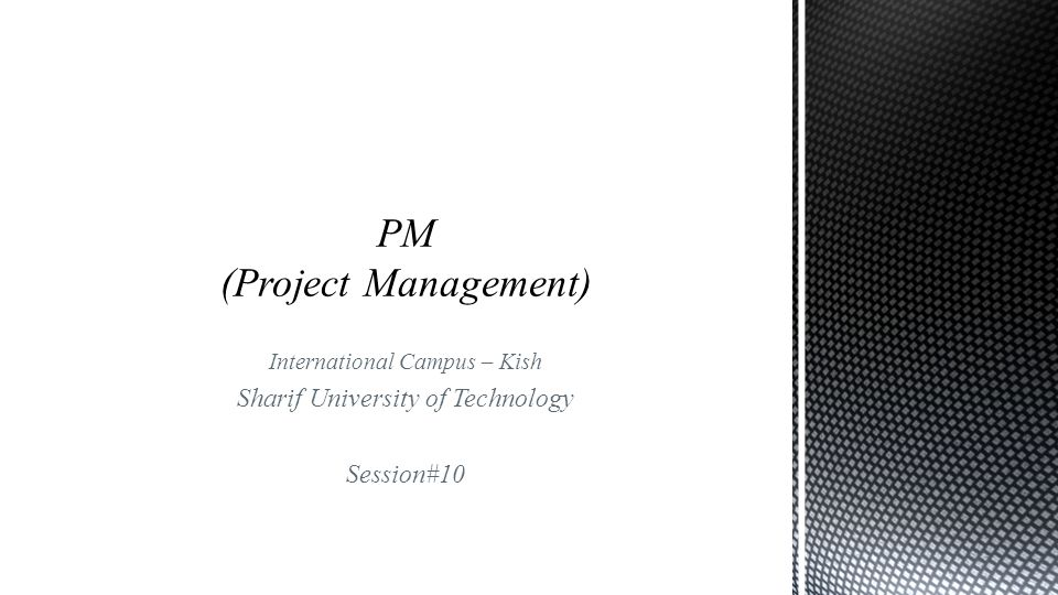 PM (Project Management)
