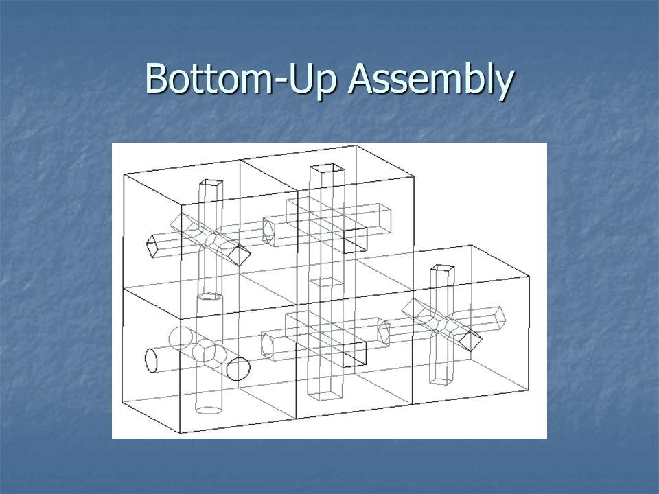 Bottom-Up Assembly