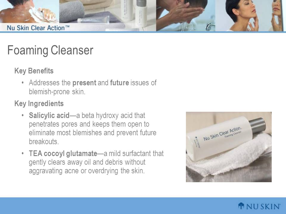 Foaming Cleanser Key Benefits
