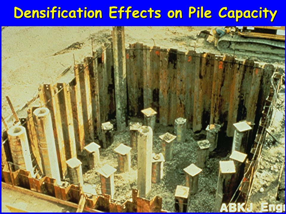 Densification Effects on Pile Capacity