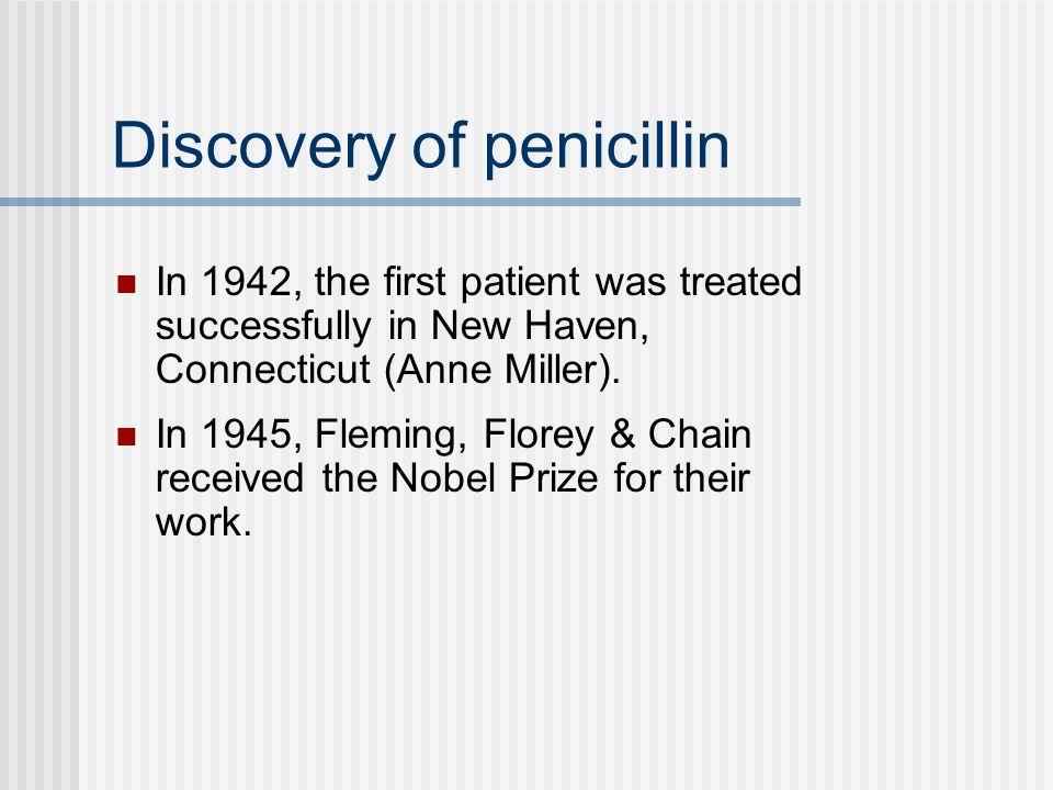 Discovery of penicillin