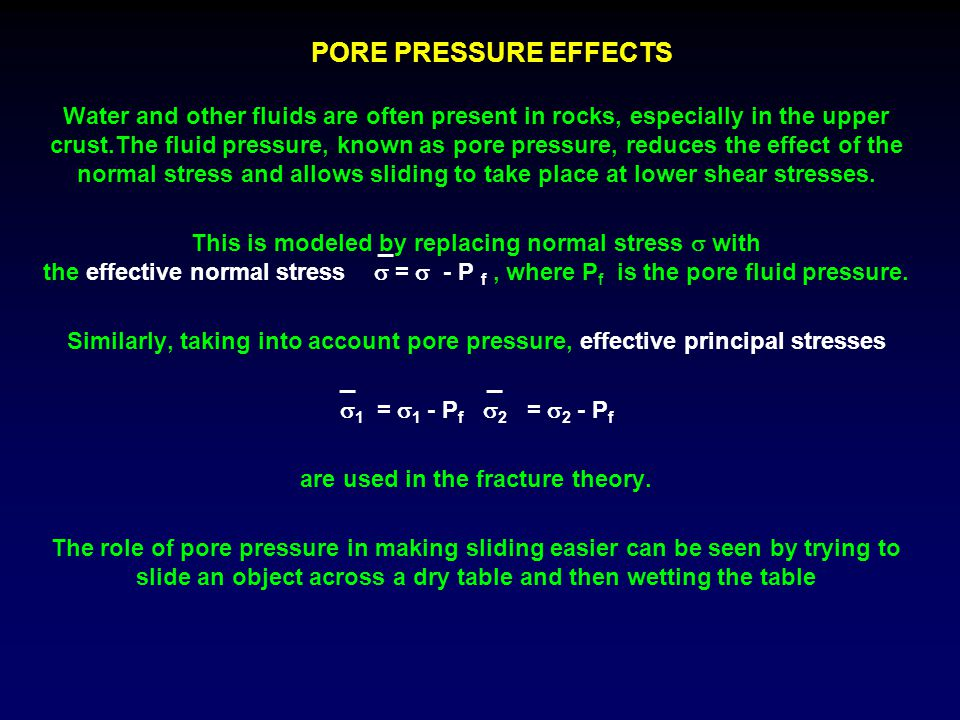 are used in the fracture theory.