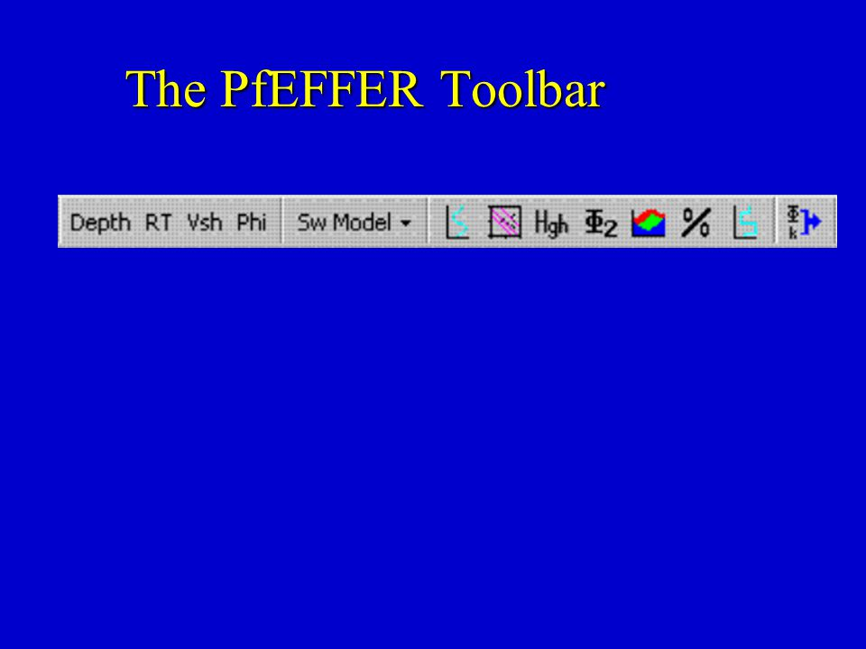 The PfEFFER Toolbar