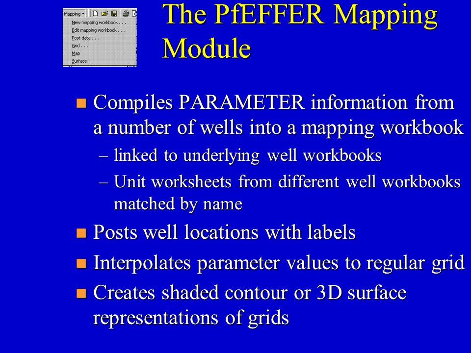 The PfEFFER Mapping Module