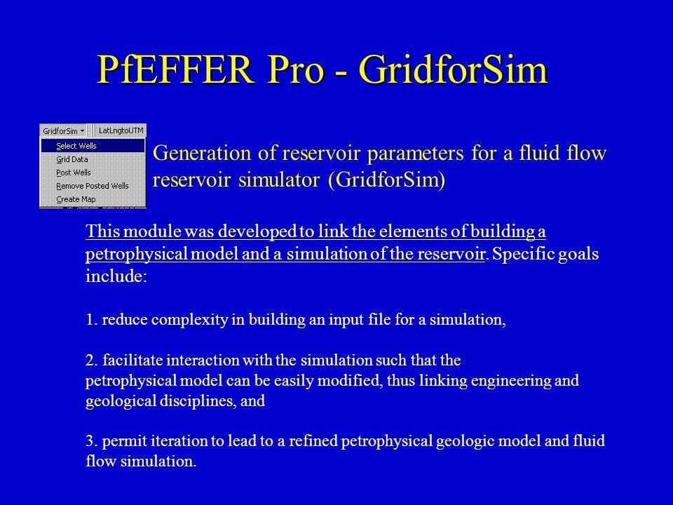 PfEFFER Pro - GridforSim