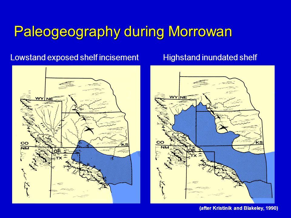 Paleogeography during Morrowan