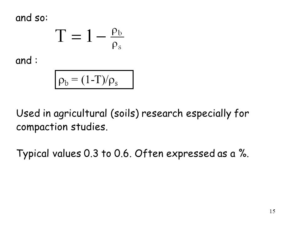 rb = (1-T)/rs and so: and :
