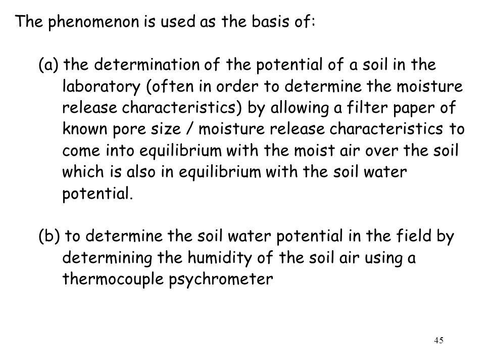 The phenomenon is used as the basis of: