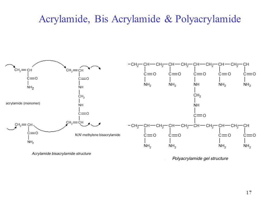 Acrylamide, Bis Acrylamide & Polyacrylamide