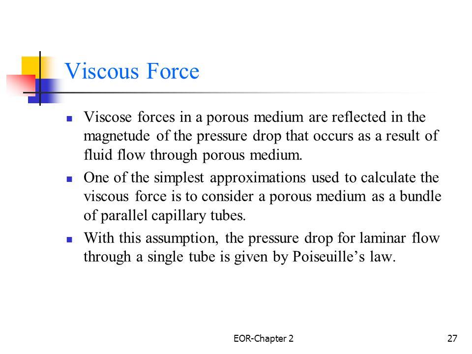 Viscous Force