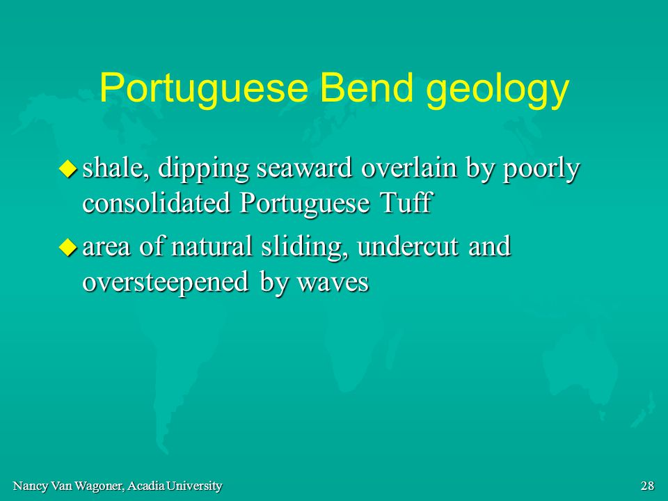Portuguese Bend geology