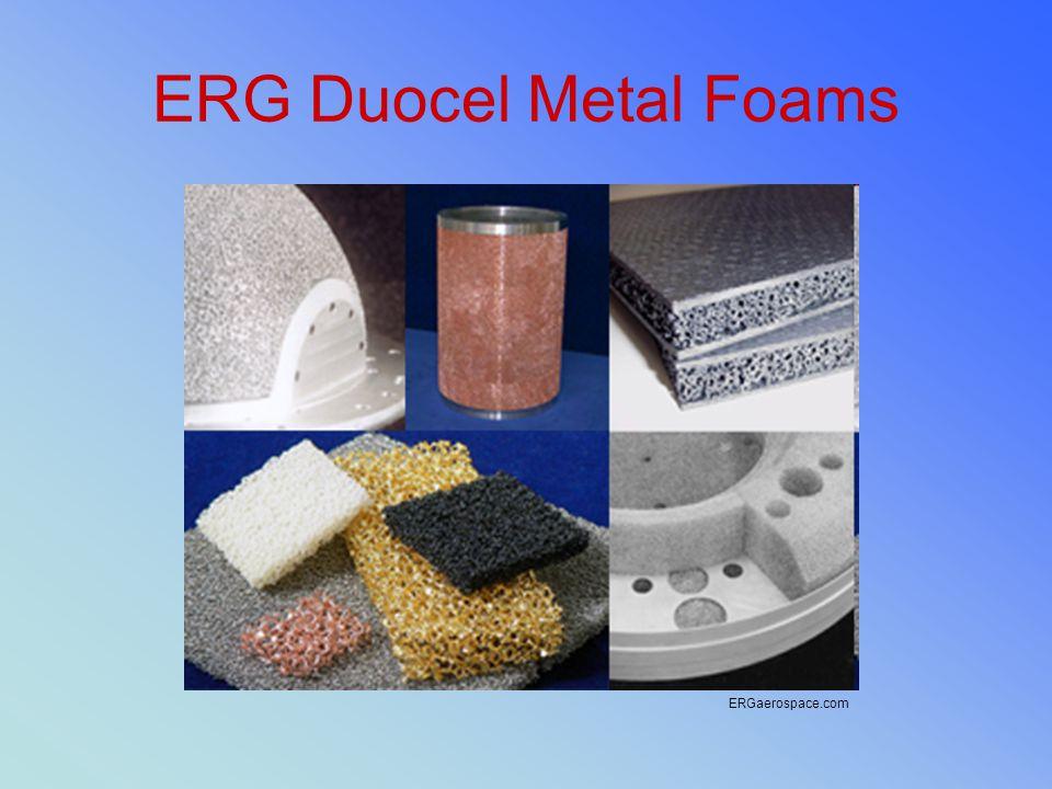 ERG Duocel Metal Foams ERGaerospace.com
