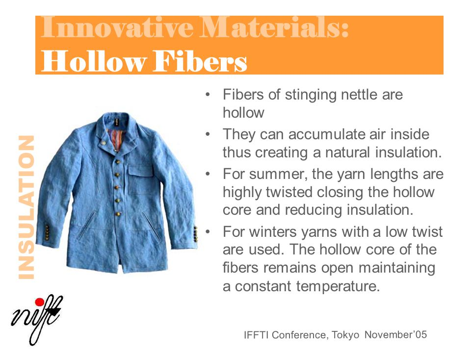 Innovative Materials: Hollow Fibers