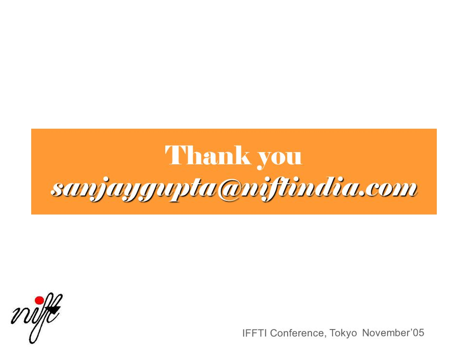 Thank you sanjaygupta@niftindia.com
