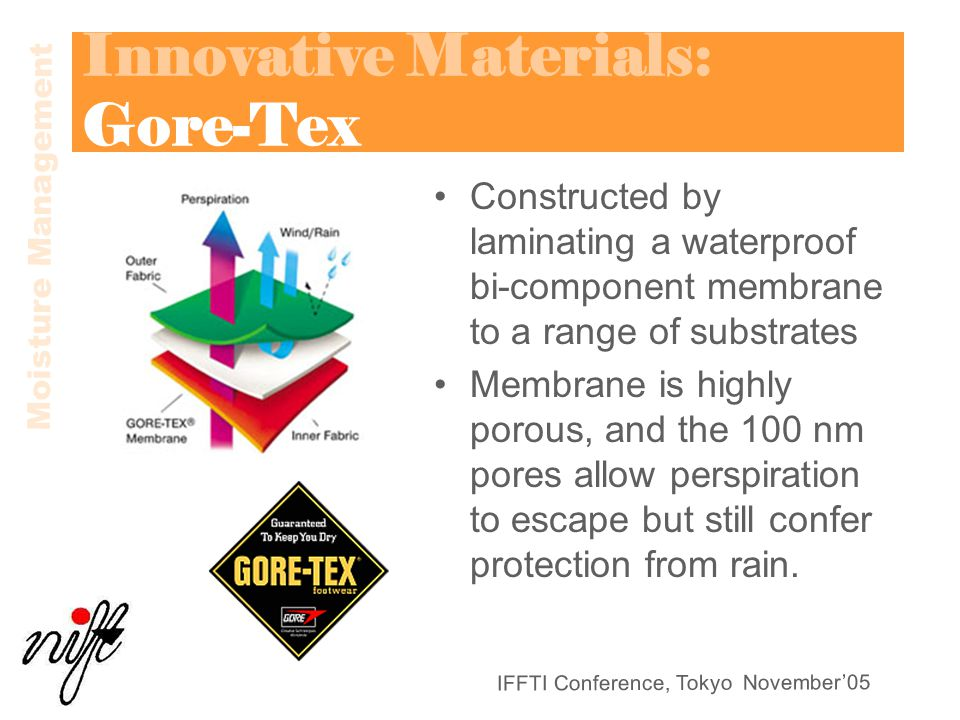 Innovative Materials: Gore-Tex