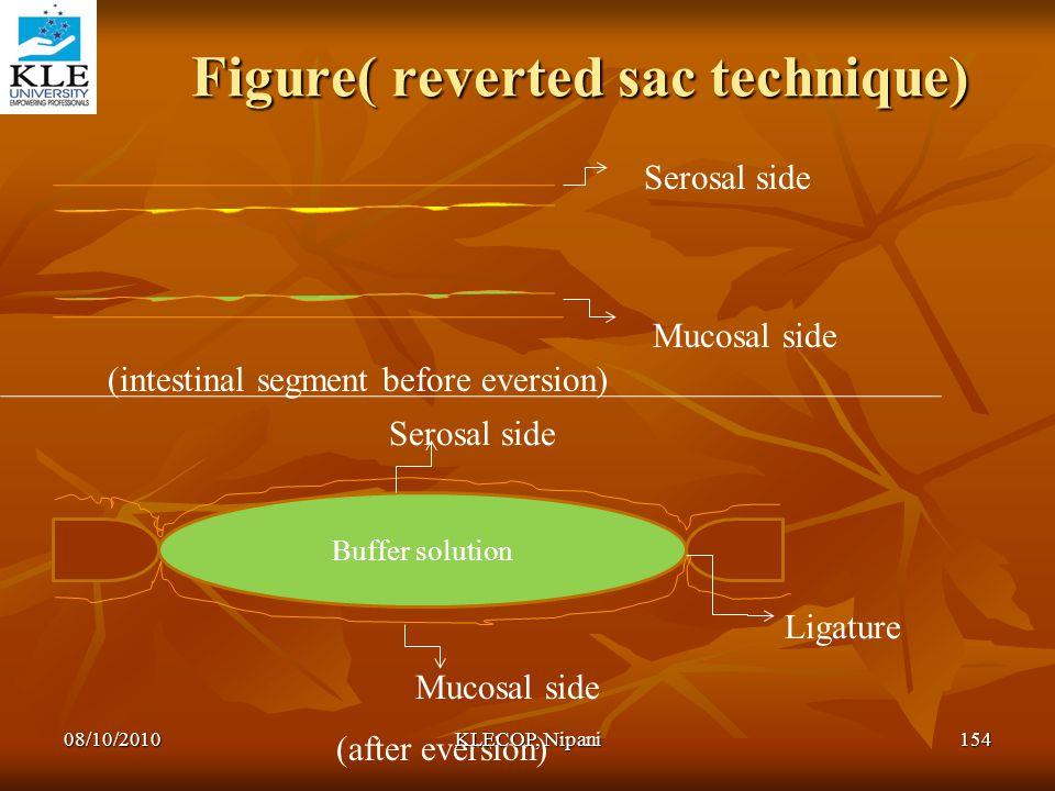 Figure( reverted sac technique)