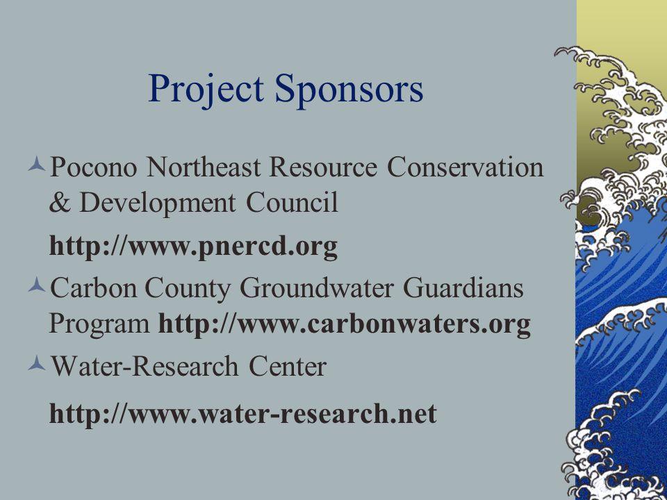 Project Sponsors http://www.water-research.net
