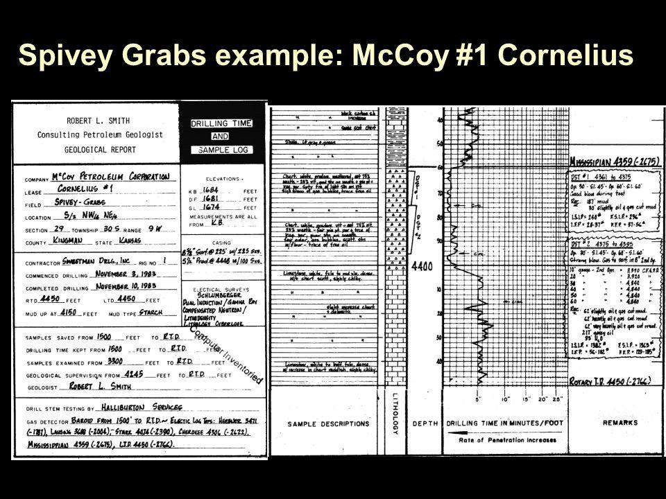 Spivey Grabs example: McCoy #1 Cornelius