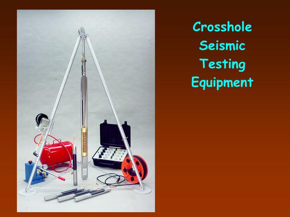 Crosshole Seismic Testing Equipment
