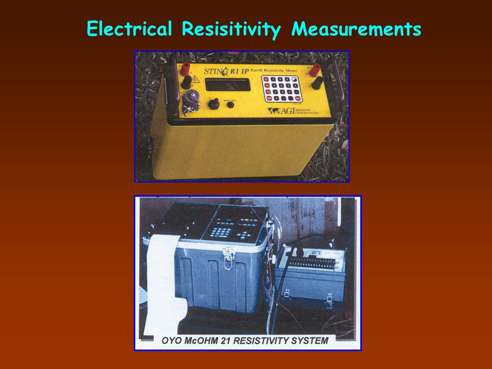 Electrical Resisitivity Measurements