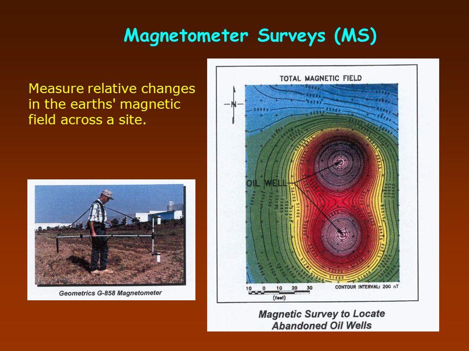 Magnetometer Surveys (MS)