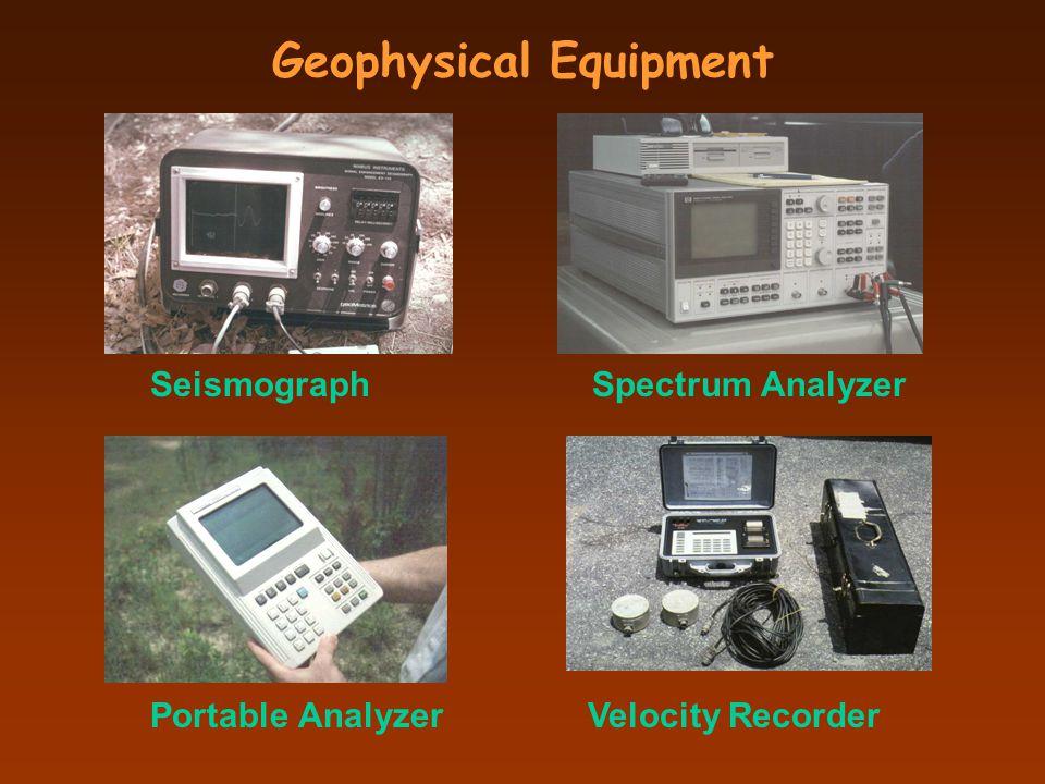 Geophysical Equipment