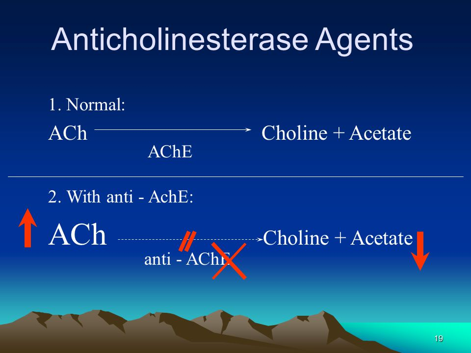 Anticholinesterase Agents