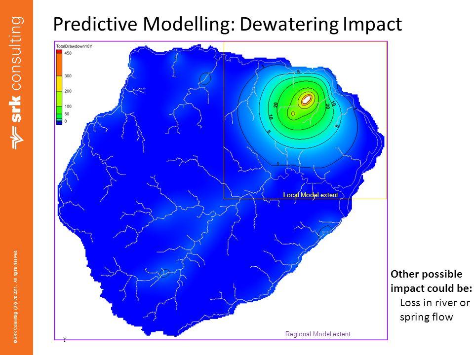 Predictive Modelling: Dewatering Impact