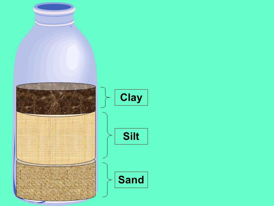 Sand Clay Silt
