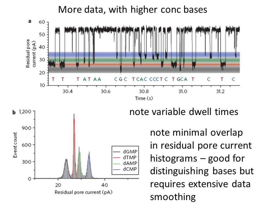 More data, with higher conc bases