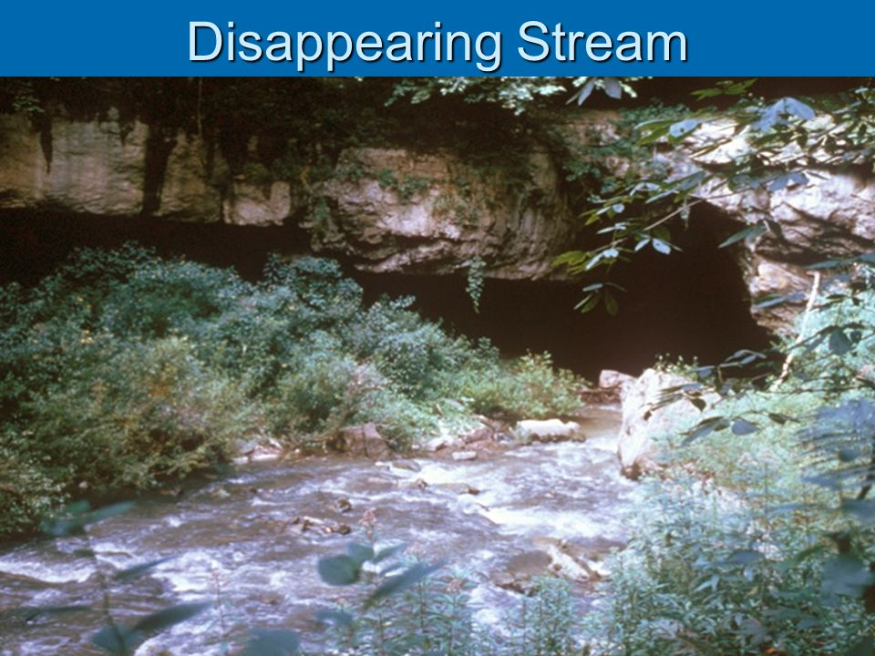 Disappearing Stream