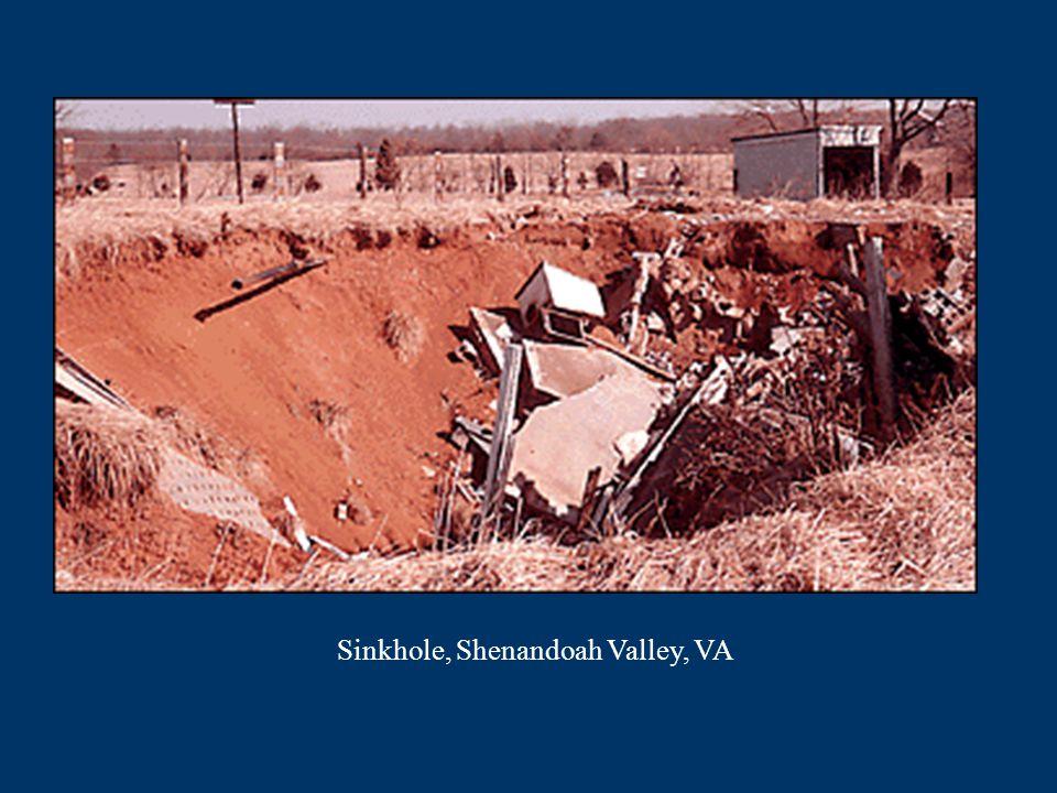 Sinkhole, Shenandoah Valley, VA