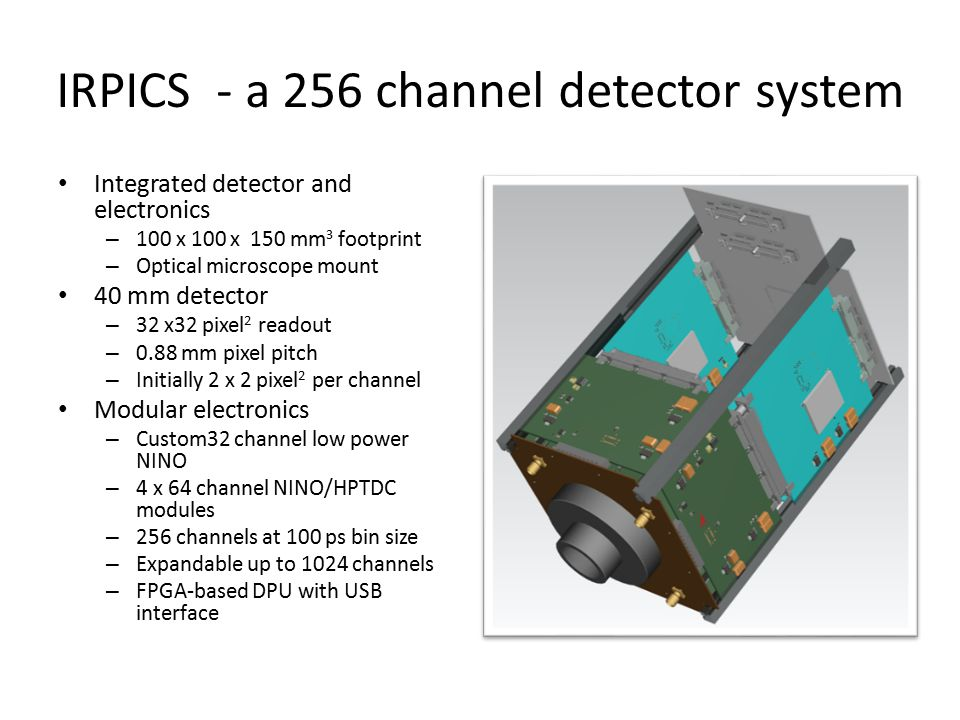 IRPICS - a 256 channel detector system