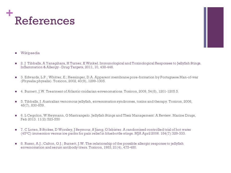 References Wikipaedia