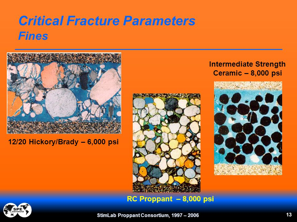 Critical Fracture Parameters Fines