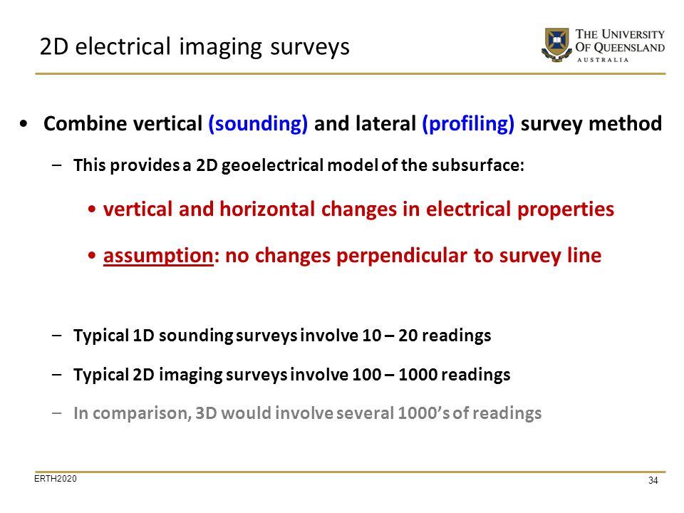 2D electrical imaging surveys